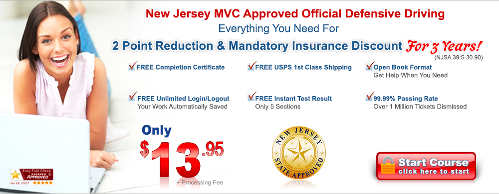 New Jersey Defensive Driving   HOME
